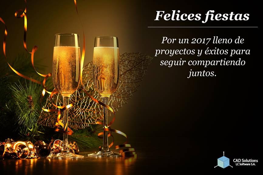 ¡Feliz Navidad Y Próspero Año Nuevo 2017